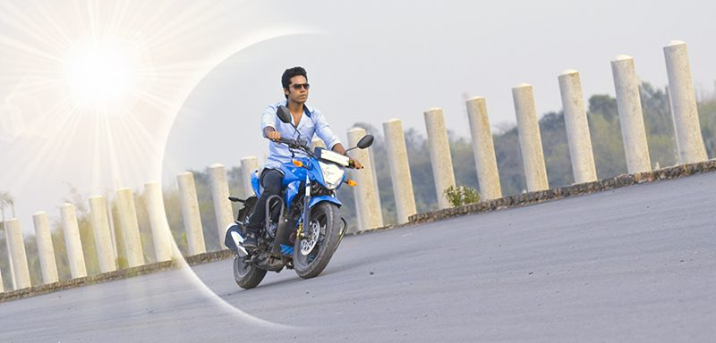 Shamim Hasan Shakil With Bike